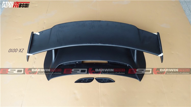 2013-2016 CARRERA 991 GT3 STYLE FIBER GLASS TRUNK WING FOR PORSCHE
