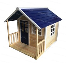 Best quality cheap outdoor wooden playhouse for kids