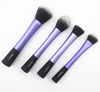 Sedona High Quality 4pcs Blue Super Soft Taklon Hair Cosmetic Brush Set ,for makeup beauty women,wholesale price