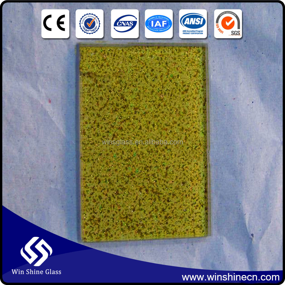Quality surred 4MM 5MM 6MM Golden Reflective Glass with ISO, 3C&CE certificate