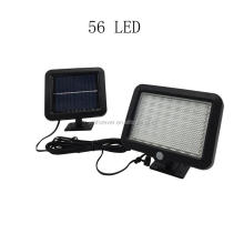 56 LED outdoor sensor waterproof wall lamp light
