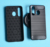 Wire drawing Shockproof Soft carbon fiber TPU case cover for Samsung Galaxy A8S