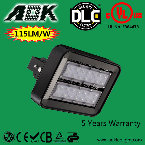 Diffuser 5Years Warranty IP65 LM79 UL DLC TUV SAA Modular led wall pack led tunnel light