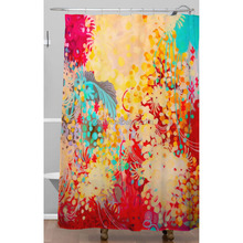 Water prood fabric boho shower curtains