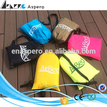 New Product Travel inflatable sleeping laybag The Summer Hot Products square inflatable air sofa camouflage air sofa