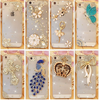 Rhinestone Case For New Arrival Crystal Diamond Hard Back Skin Mobile phone Case Protective Shell