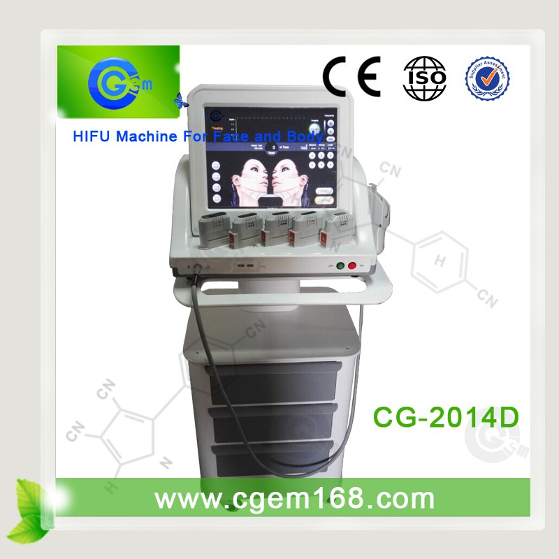 CG-2014D beauty salon equipment china body slimming machine ultrasonic fat removal equipment device hifu face and body