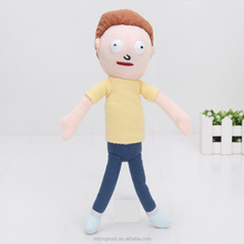 26cm Rick and Morty Happy Sad Foamy Meeseeks Plush Toys Soft Stuffed Animal Dolls For Kids Gift juguetes de peluche bebe