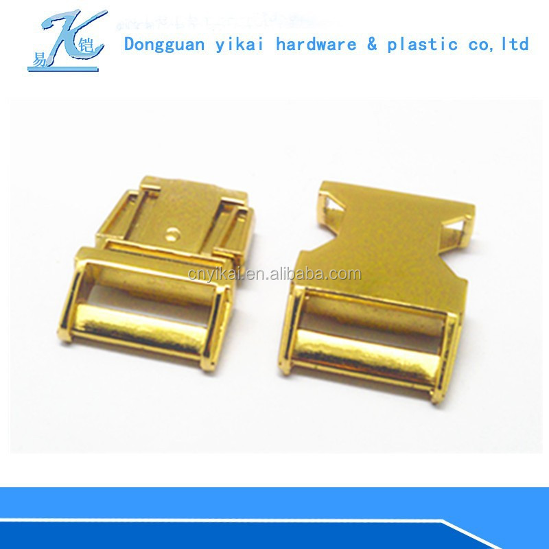 High Quality metal buckles for webbing /lock metal bag buckle/adjustable side release buckle