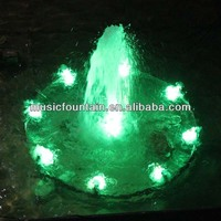 Factory supply beautiful artificial water colorful musical fountain equipment and make musical fountain
