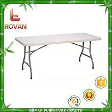 new design plastic table and chai 3ft folding table