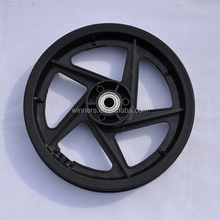 10 inch 12 inch 5 spoke plastic stroller wheel bike wheel