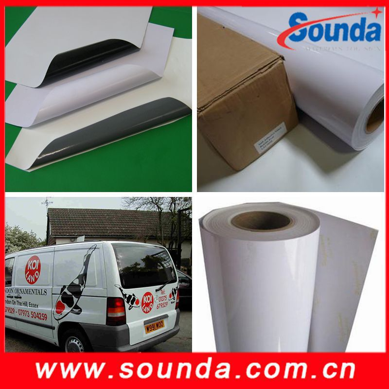 Sound Glossy Self Adhesive Vinyl for Vehicle Wraps