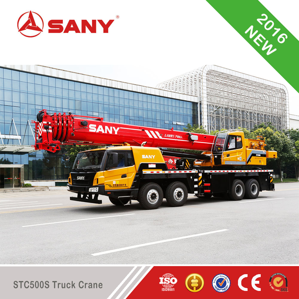 Hot Sale SANY STC500S Truck Crane of Mobile Crane of 50 Ton Crane For Sale