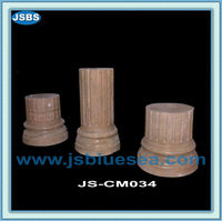 Hand Carved Cheap Natural Parking Stone Pillar Design