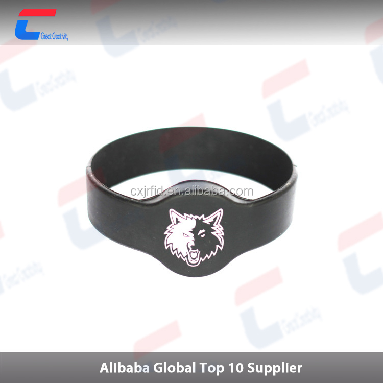 RFID A molding silicone wrist band for UEFA Champions League