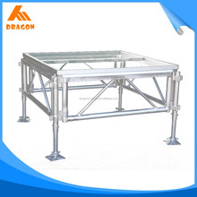 quick shipping exhibition booth aluminum stage