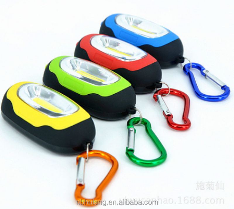 OEM Promotion keychain LED logo projection flashlight HL-8009