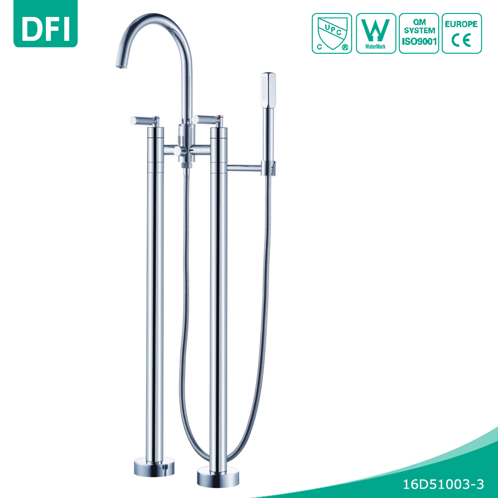UPC faucet part floor standing bathtub faucet for the bathroom