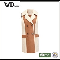 China alibaba women wool coat, new fashionable woolen clothes