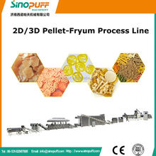 Automatic 2D Snack Food Production Line/Automatic Self Cleaning 2D Puffed Snack Food Making Equipment Line