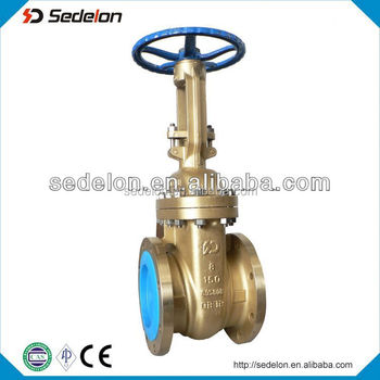 Bronze flexible wedge gate valve