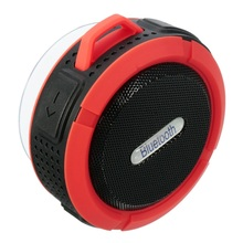 Wireless Bluetooth 3.0 Waterproof Outdoor / Shower Speaker Portable Mini Bluetooth Speakers With Suction Cup/Mic/Hands-Free