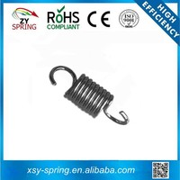 Zinc plated large truck tension coil spring for high quality and high performance