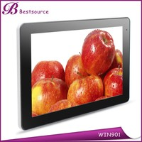 9 inch Inl Atom Z3735G Quad-core 1280*800 IPS screen 1G 16G win 8 super smart android tablet pc made in china