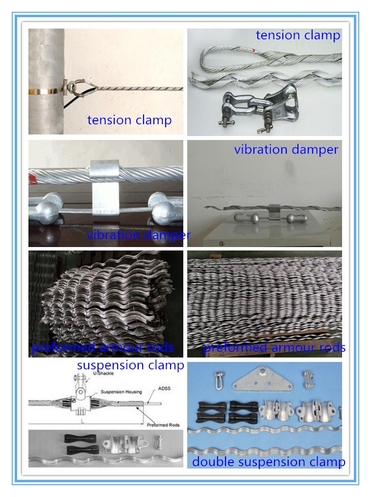 Transmission Power Line Hardware Cable tension Clamp