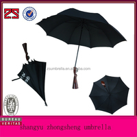 Auto Open Straight Gun Shape Umbrella Promotion With Self Frame Pouch Umbrella