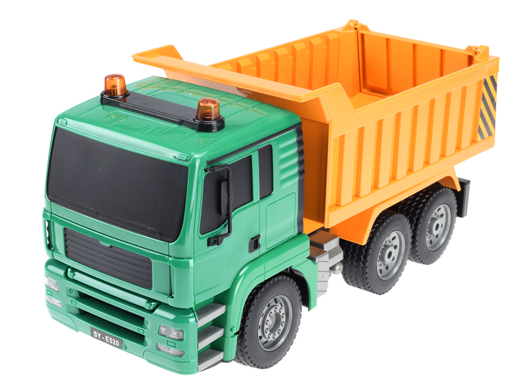 Multi-Functional 1 / 20 Scale 4 Channel Rc Hobby Dump Trucks Toy For Kids
