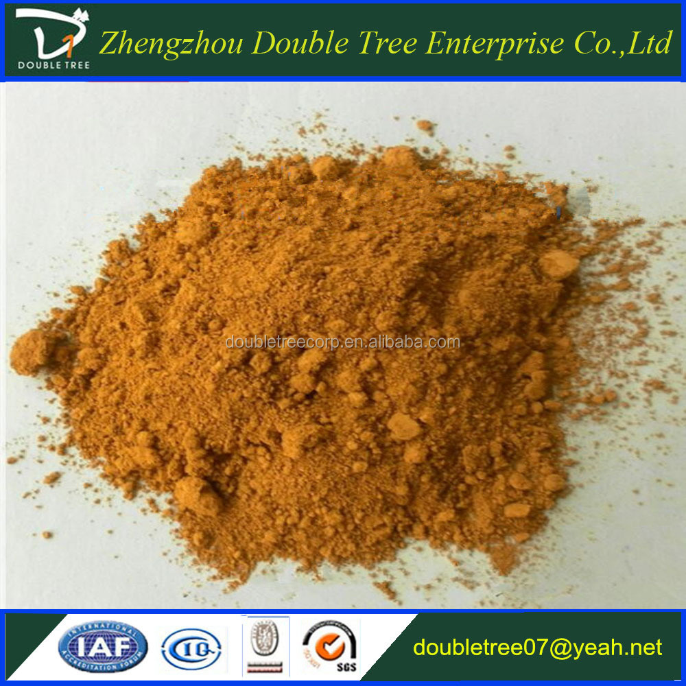 China manufacturer of pigment oxide iron yellow 313 for paints/pigment for concrete