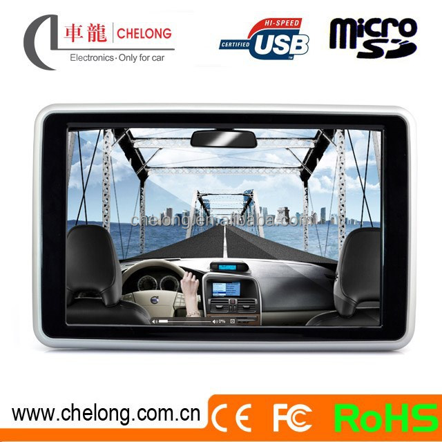 "10.1"" Video Song Download MP4 Headrest DVD Mini Cooper Auto Parts Car DVD Player"