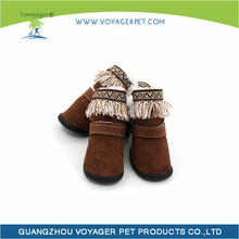 Lovoyager Brand new adorable leather dog boots with high quality