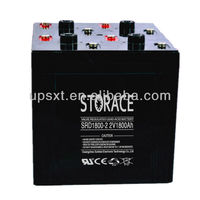 Maintenance Free Dry Battery 2v 1800ah deep cycle battery (SRD1800-2)