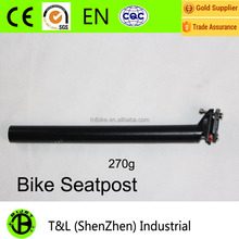 High quality aluminum alloy bicycle parts seat post