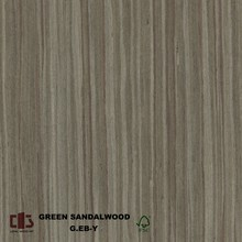 Fancy Gem sandal wood recon wood veneer with grade A face veneer