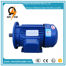 220v 50hz 2800rpm 3 phase ie3 ie2 waterproof submersible 3hp ac electric motor