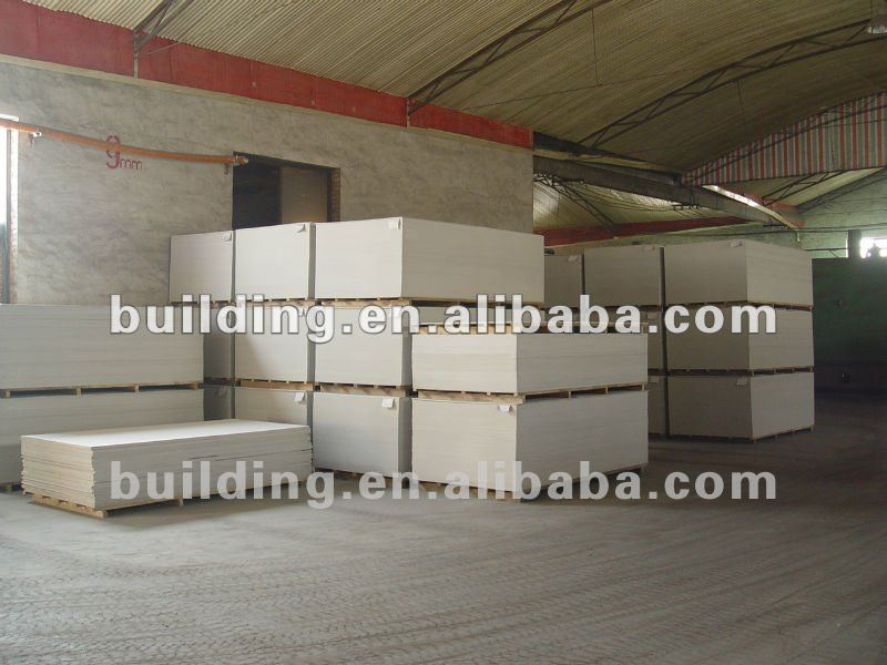 best price calcium silicate wall board(ISO9001)