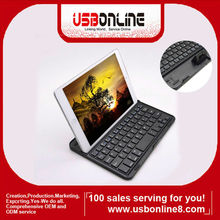 Super thin Portable protective case Aluminum Bluetooth Keyboard for ipad mini 7.9 inch