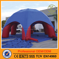 Arch-type tent large outdoor inflatable lawn spider tent/dome tent