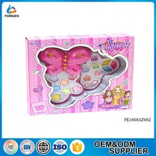 Fashion girls beauty play set toys, pretend plastic makeup kit set toy for girls