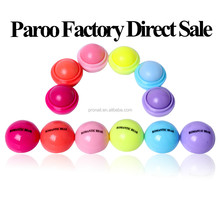 Hot Sell 6 Colors Lip Balm Ball Shape Natural Flavour Lip Balm