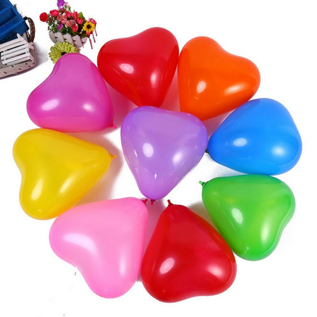 10pcs/lot 12inch Love Heart Pearl Latex Balloon Float Air Balls Inflatable Wedding Christmas Birthday Party Decoration kids Toys