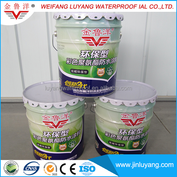 One component liquid applied polyurethane waterproof roof coating