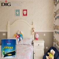Strong hiding power home decorative wall coating