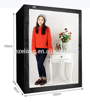 Deep LED Professional Portable Softbox Box 120 * 80*160cm LED Photo Studio Video Light Tent with LED Light