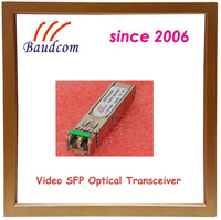 1.485Gbps Video SFP fiber optic module with PIN photodetector