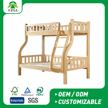 Children Bunk bed School/home/kindergarten bedroom furniture bed set top quality